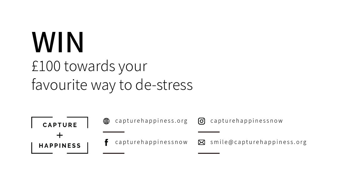 WIN: £100 towards your favourite way to de-stress